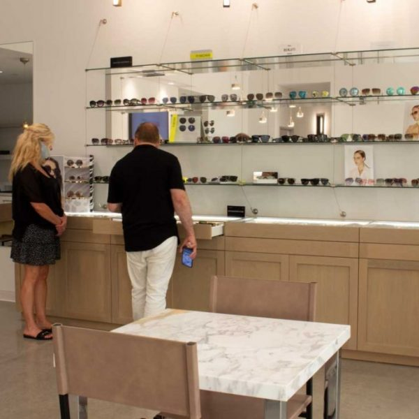 guests-checking-out-glasses-at-malibu-insight